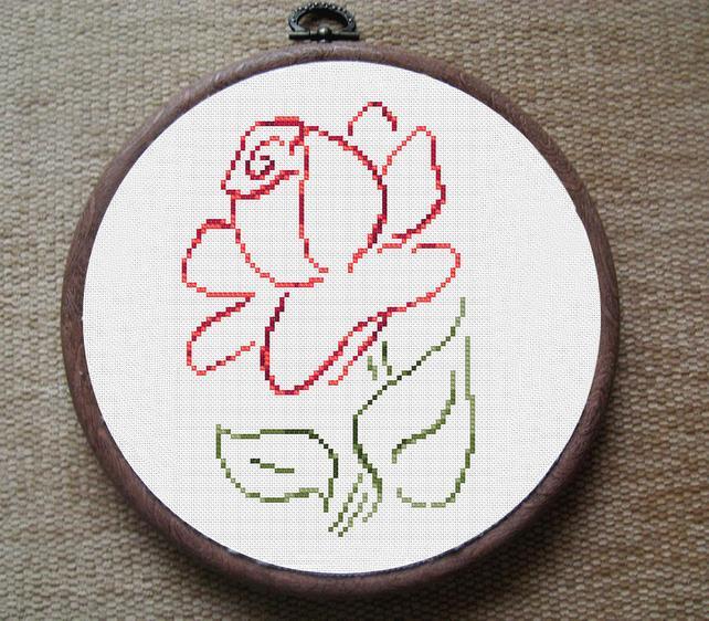 cross stitch free patterns flowers - Les patrons de broderie