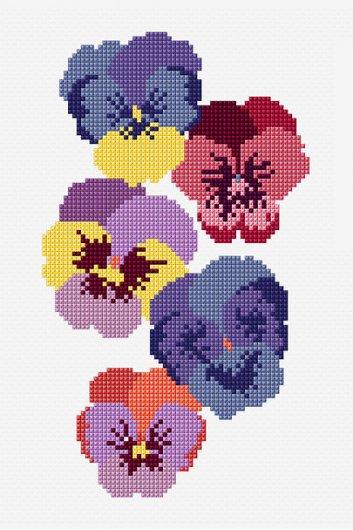 dmc free cross stitch patterns - Les patrons de broderie