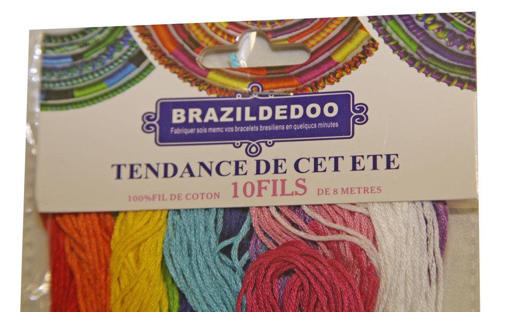 fils pour bracelets bresiliens