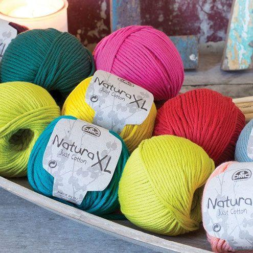 gros fil coton a tricoter